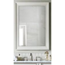 """Bristol 29"""" Cottage White Mirror"""