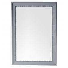 "Bristol 29"" Silver Gray Mirror"