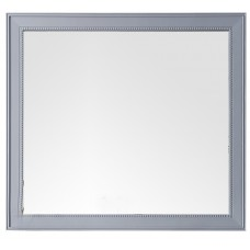 "Bristol 44"" Silver Gray Mirror"