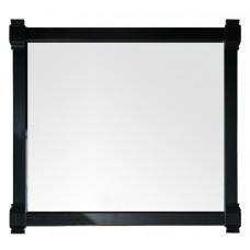 """Brittany 43"""" Black Onyx Mirror"""