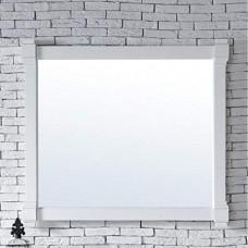 """Brittany 43"""" Cottage White Mirror"""