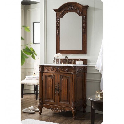 James Martin St James 30 Cherry Single Vanity