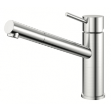 Nivito Flow 100 Stainless Steel Kitchen Faucet