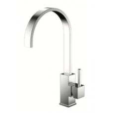 Nivito Reflected 100 Stainless Steel Kitchen Faucet