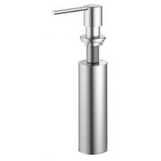 Nivito Stainless Steel Round Soap Dispenser